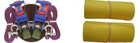 Slackline Set mit Baumschoner