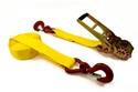 Zurrgurt 75 mm 2-teilig mit gelben Zurrgurtband